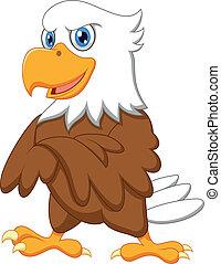 鷹, 矯柔造作, 漂亮, 卡通