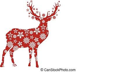 鹿, 聖誕節