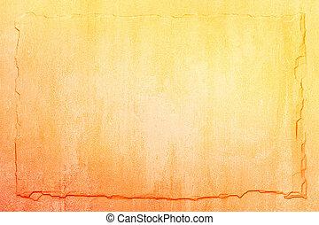 黃色的背景, 橙, 板岩