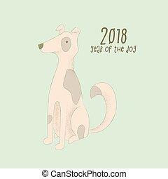黃道帶, 簽署, 狗, 2018