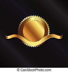 黃金帶子, 封印