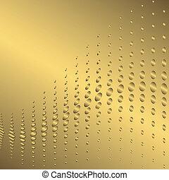 黃金, 摘要, 背景, (vector)