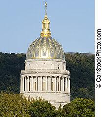 黃金, 西方, 首都, 圓屋頂, 弗吉尼亞, 狀態, 裝飾華麗