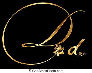 黃金, d, 信