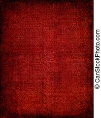 黑暗, 布, 紅色