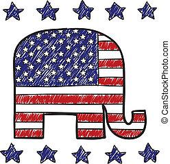 黨, 共和, 略述, 大象