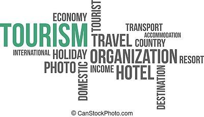 -, 旅遊業, 雲, 詞