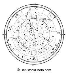 2018., 1月1, 占星術, 星象