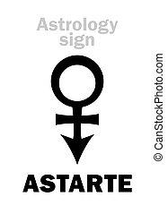 astarte, astrology:, (venus), 星