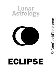 astrology:, 日蝕, 月