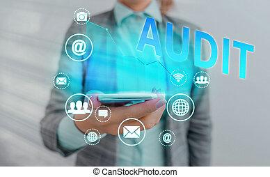 audit., 微妙, 概念性, 相片, 正文, 明顯, 簽署, 特殊, type., 典型地, 氣味, 顯示, 愉快