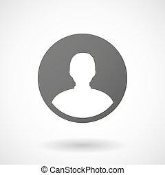 avatar, 背景, 圖象, 白色的男性