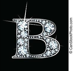"""b"", 鑽石"