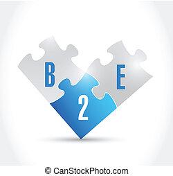 b2e, 設計, 難題, 插圖, 片斷