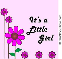 biby, 女孩, 卡片