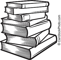 (books, stacked), 書, 堆