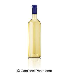 bottle., 白葡萄酒