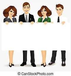 businesspeople, 空白, 藏品, 廣告欄
