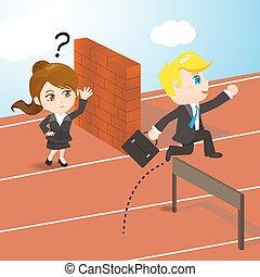 businesspeople, 競爭