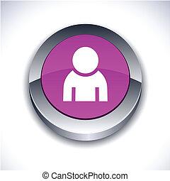 button., 人, 3d