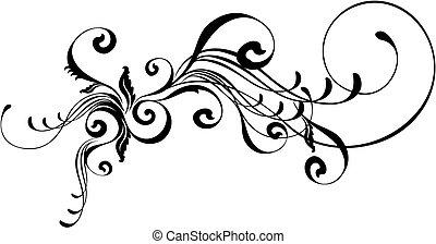 caligraphic, 裝飾品