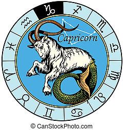 capricorn, 黃道帶, 簽署