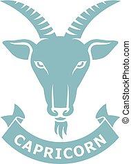 capricorn, 黃道帶, (horoscope, icon), 簽署