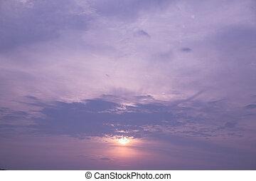 cloudscape, 黃昏
