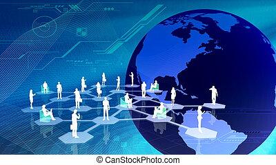 communitty, 网絡, 社會