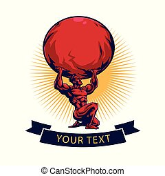 crossfit, 矢量, titan, 體操, 設計, 樣板, 標識語, 地圖集, 健身