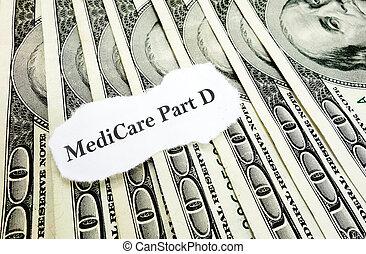 d, 錢, 部份, 醫療保險