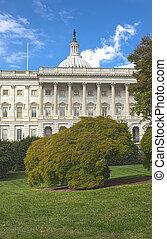 dc., 州議會大廈, 圖像, 華盛頓, 我們, 建築物, hdr