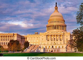 d.c, 華盛頓, 國會大廈大樓, 國家, 團結