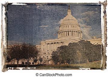 dc., 華盛頓 國會大廈, 建築物