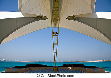 dhabi, 島, 現代, abu, 海, 結构, 取景
