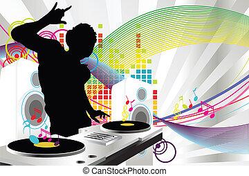 dj, 音樂