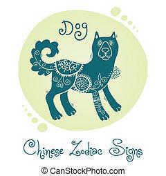 dog., 黃道帶, 漢語, 簽署