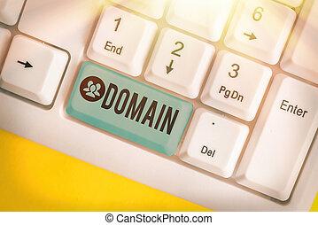 domain., 正文, 區域, 地域, government., 概念, 統治者, 或者, 特殊, 控制, 意思, 書法