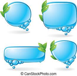 eco, 演說, 集合, 氣泡