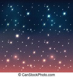eps10, 星, 天空, 夜晚