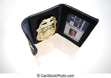 fbi, 徽章