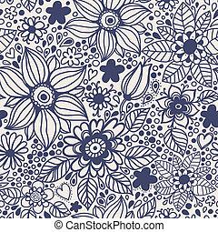 flowers., seamless, 結構