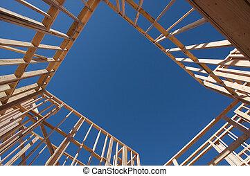 framing., 家建設