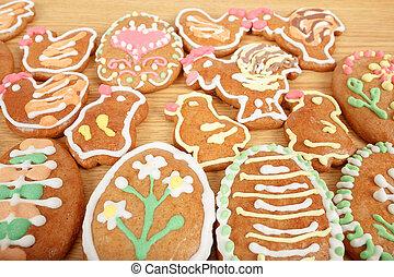 gingerbreads, 復活節, 彙整