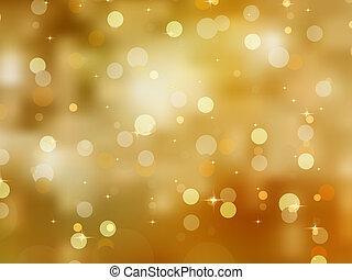 glittery, 金, eps, 背景。, 8, 聖誕節