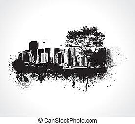 grunge, 城市