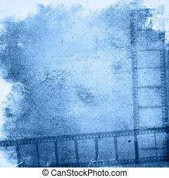 grunge, 背景, 影響, 電影條