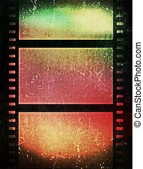grunge, 電影, 背景, 剝去