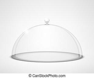 half-sphere, 玻璃, 透明