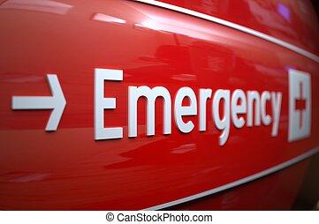 hospital., 簽署, 緊急事件